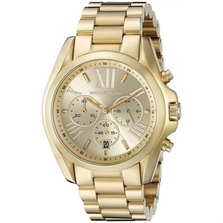 Picture of Michael Kors Women's MK5605 Bradshaw Gold-Tone Stainless Steel Watch