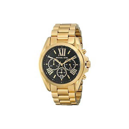 Picture of Michael Kors Women's Bradshaw Gold-Tone Bracelet Watch MK5739