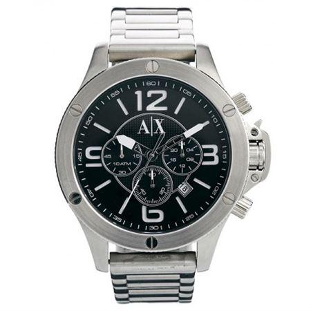 Picture of Armani Exchange Men's AX1501 Analog Display Analog Quartz Silver Watch