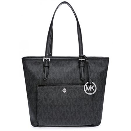 Picture of Michael Kors Faux Leather Bag For Women , Black 30S6STTT8B BLK