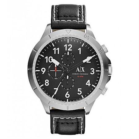 Picture of Armani Exchange Men's AX1754 Analog Display Analog Quartz Black Watch