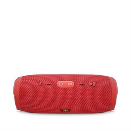 Picture of JBL Charge 3 Waterproof Portable Bluetooth Speaker (Red)