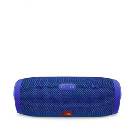 Picture of JBL Charge 3 Waterproof Portable Bluetooth Speaker (Blue)
