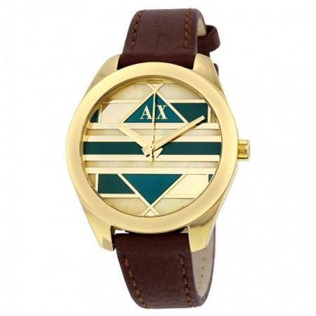Picture of Armani Exchange Women's AX5524 Analog Display Analog Quartz Brown Watch
