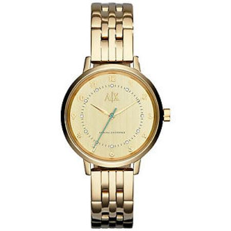 Picture of Armani Exchange Women's AX5361 Analog Display Analog Quartz Gold Watch