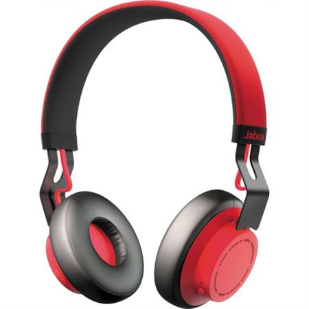 Picture of Jabra Move Wireless Bluetooth Headphones (Red)