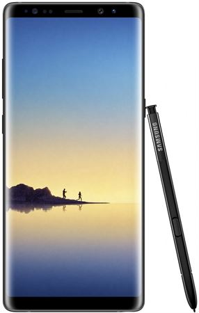 "Picture of Samsung Galaxy Note8 Smartphone (6.3"", 12MP, 6GB, 64GB), Midnight Black"