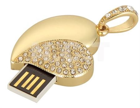 Picture of 4Gb USB pendant with chain