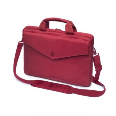 Picture of Dicota Slim Case for 13 inch MacBook (Red, Laptop Bag)