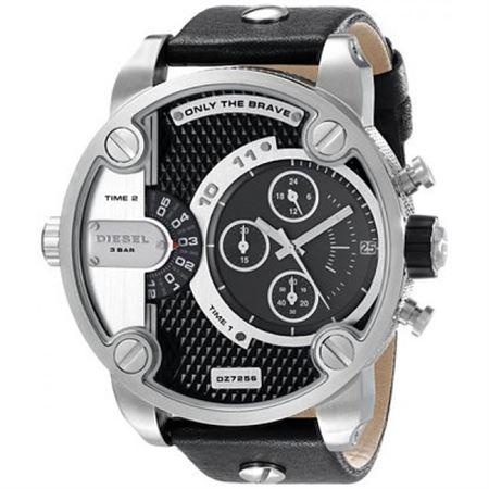 Picture of Diesel Men's DZ7256 Little Daddy Analog Display Analog Quartz Black Watch