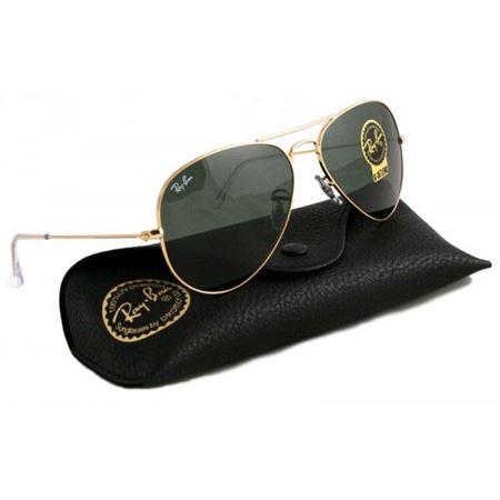 be39f629d71 Infi Shop. Ray-Ban Aviator Sunglasses Gold Grey Green RB3025 L0205 58mm
