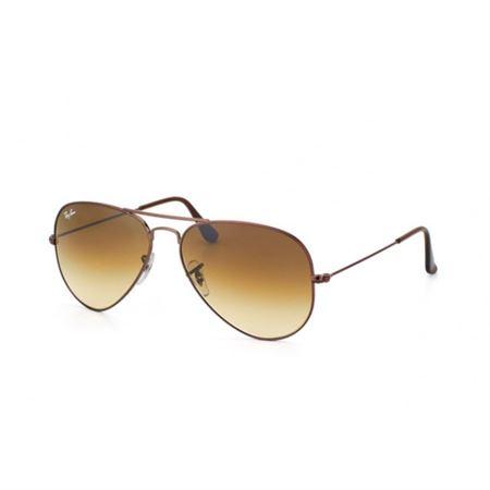 742d7c76c6005c Infi Shop. Ray-Ban Brown Gradient Aviator Sunglasses RB 3025 014 51 58mm
