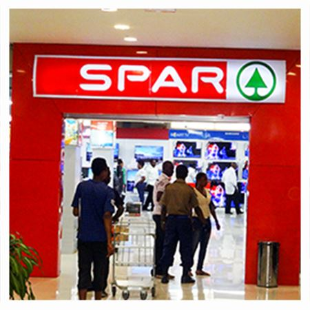 Picture of Spar gift voucher worth NGN 5000.
