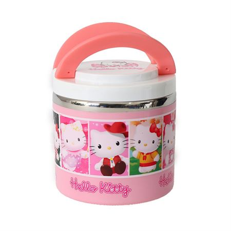 Picture of Hello Kitty Character Lunch Box- Pink