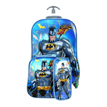 Picture of Full Batman Trolley School Bag