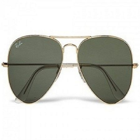 Picture of Ray Ban Aviator Sunglasses -Gold frame