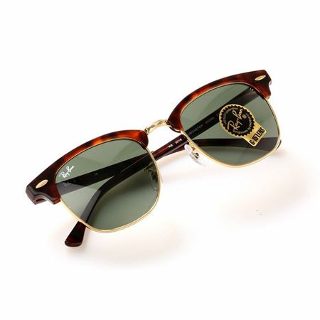 Picture of Ray Ban Clubmaster Tortoise Shell SUNGLASS