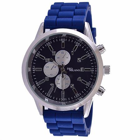 Picture of Men's Decker Silicon Strap Wrist Watch - Blue