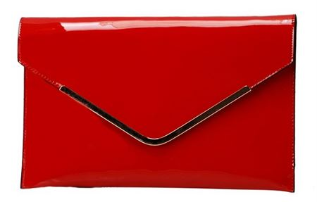 Picture of Envelope Red Pocket Purse By David Jones