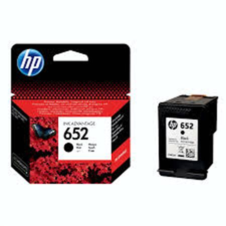 Picture of HP 652 Black Ink Advantage Cartridge