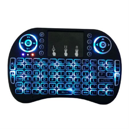 Picture of 8 Air Mouse 2.4GHZ Wireless Keyboard Touchpad Remote