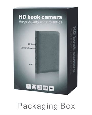 Picture of HD Book surveillance Camera.