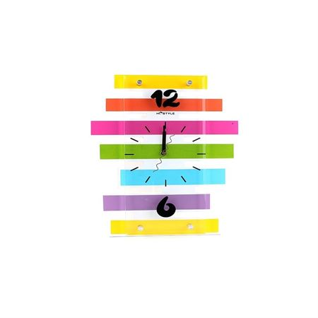 Picture of HC Style - Multi-Colour Wooden Wall Clock