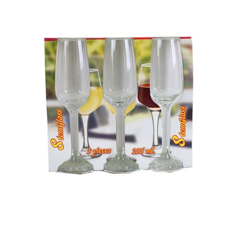 Picture of 3 Pcs White Wine Glass