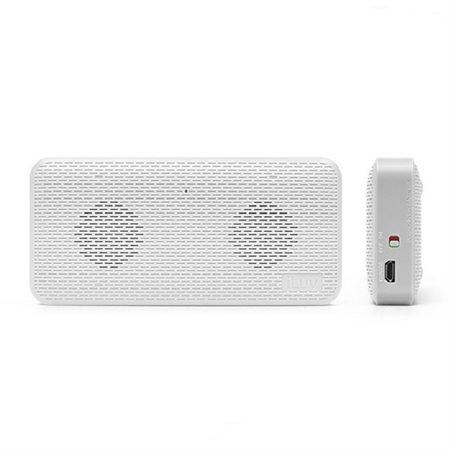 Picture of iLuv Aud Mini Slim Portable Bluetooth Speaker, White