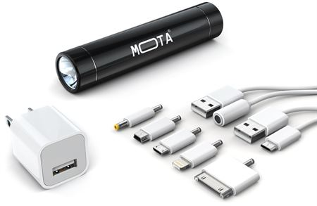 Picture of Mota Smartphone Battery Charger,Black