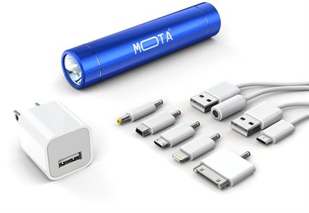 Picture of Mota Smartphone Battery Charger,Blue
