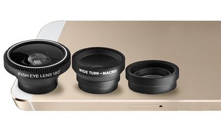 Picture of Aduro 3-Piece Camera Lens Kit For Apple iphones