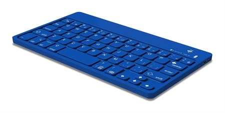 Picture of Polaroid Universal Bluetooth Wireless Keyboard for Smartphones, Blue