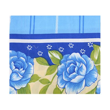 Picture of Floral Pattern Bedspread - Blue Multi