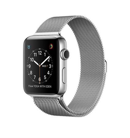 Picture of Apple Watch MNPU2 42mm Stainless Steel Case with Milanese Loop