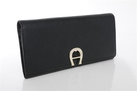 Picture of Aigner Milano Bill And Card Case Wallet Black, M AL156185.02
