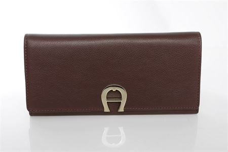 Picture of Aigner Milano Bill And Card Case Wallet Brown, M AL156185.14
