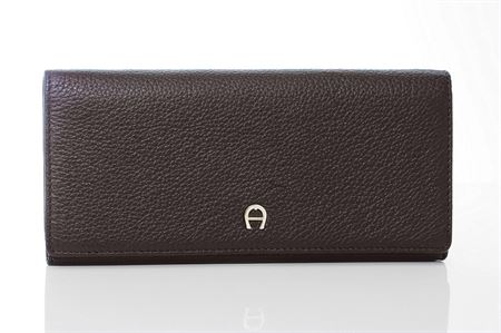 Picture of Aigner Milano Bill And Card Case Wallet Brown, M AL15666051.14