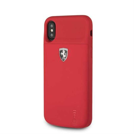 Picture of Ferrari Off Track Full Cover Power Case 3600mAh for iPhone X - Red