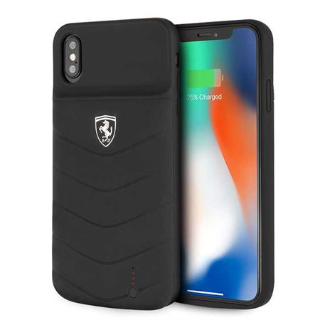 Picture of Ferrari Off Track Full Cover Power Case 4000mAh for iPhone XS Max - Black