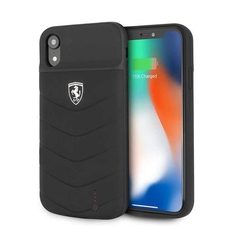 Picture of Ferrari Off Track Full Cover Power Case 4000mAh for iPhone XR - Black