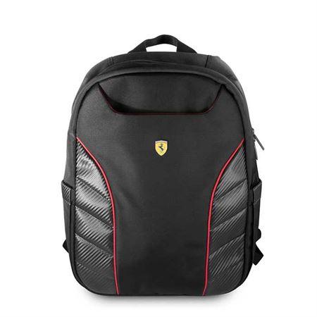 "Picture of Ferrari Scuderia New Simple Version Backpack 15""- Black"