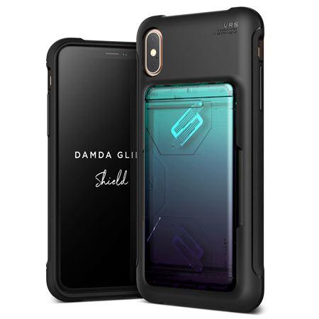 Picture of VRS Design iPhone XS Max Damda Glide Shield cover / case - Solid Green Purple
