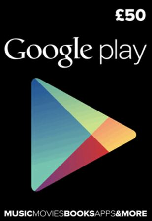 Picture of Google Play UK £50 Digital Gift Card