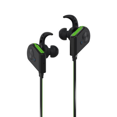Picture of Promate Bluetooth Earphones  Wireless Bluetooth 4.1 Magnetic Earphones with HD Sound Quality Sweatproof  Secure-Fit  Built-In Mic and Noise Isolating for iPhone  iPad  Samsung  Pc  Laptop  Fluid Green