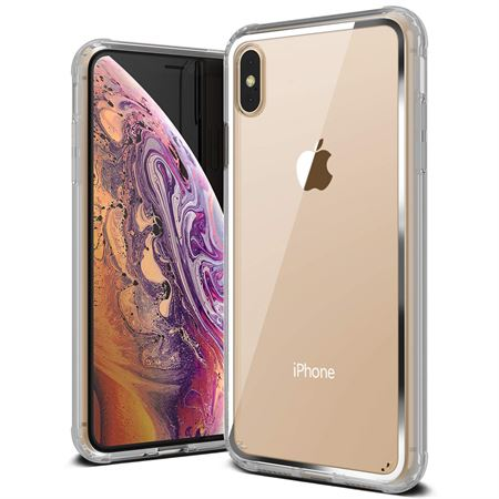 Picture of VRS Design iPhone XS / iPhone X Crystal Chrome cover / case - Clear