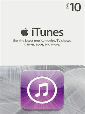 Picture of iTunes UK £10 Gift Card
