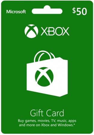 Picture of Xbox $50 Gift Card