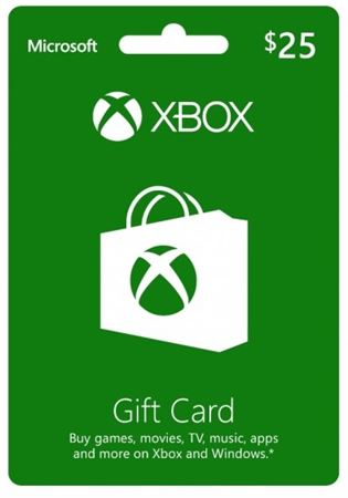 Picture of Xbox $25 Gift Card