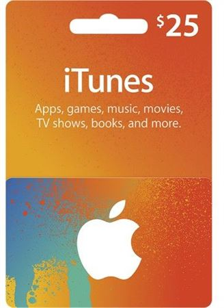Picture of Apple iTunes Gift Card $25